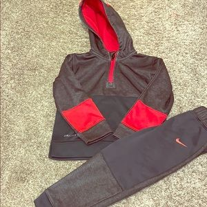 Nike Dri-fit outfit.
